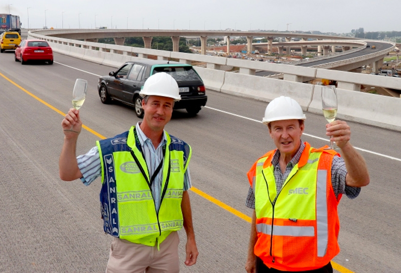 Sighs of relief as new ramp opens at Mt Edgecombe Interchange